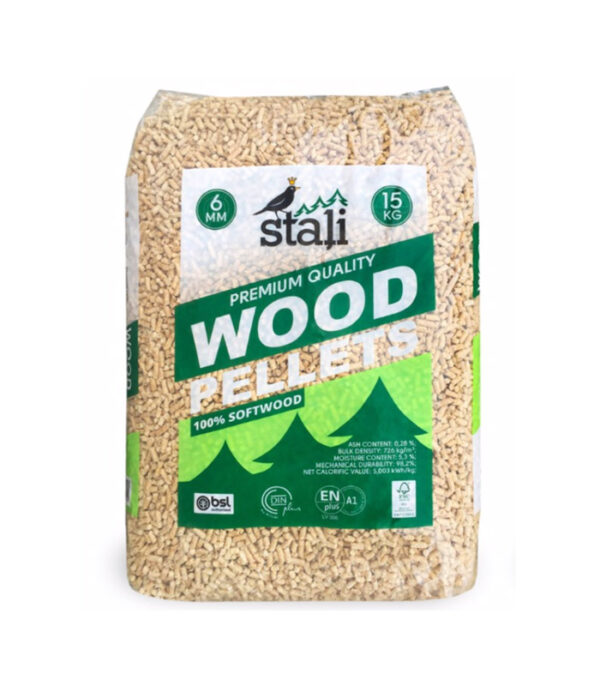Stali Pellet EnPlus A1 πέλλετ ξύλου